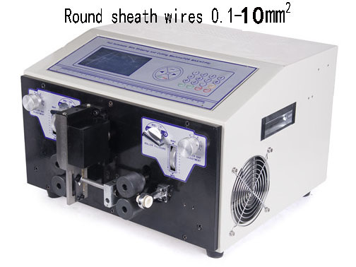 Sheathed wires stripping and cutting machine WPM-09HT1 10.0sq.mm