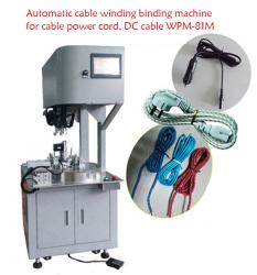 Automatic cable winding binding machine for cable power cord, DC cable WPM-81M
